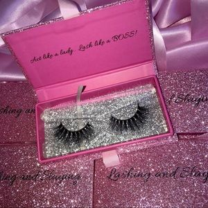 "Mink eyelashes ""Slaying"""